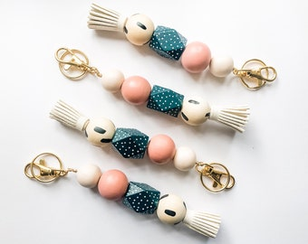Sweet 16 Keychain with Tassel & Clip