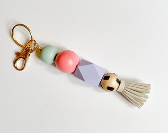 Cutting Class keychain with Tassel & Clip