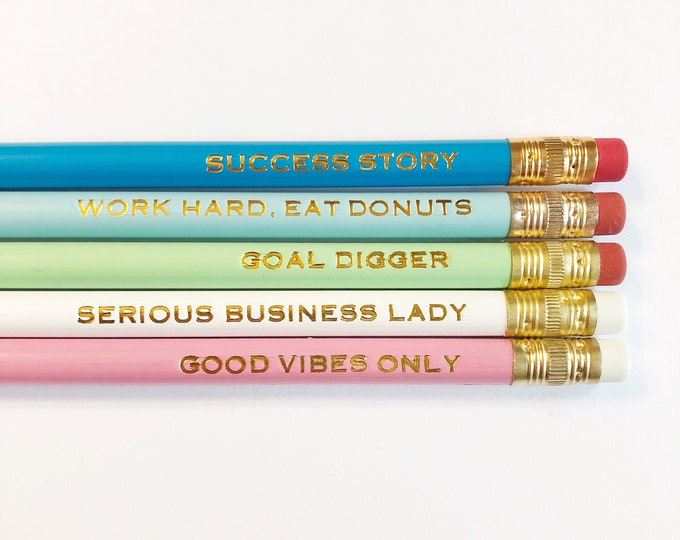 Featured listing image: Get It Girl pencil set