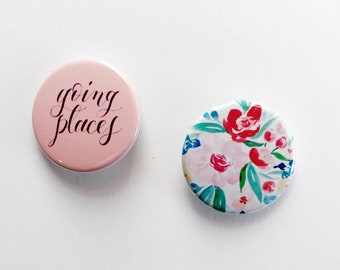 Going Places button set | Gift-worthy | Ready to ship