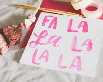 Falala Holiday Greeting Card