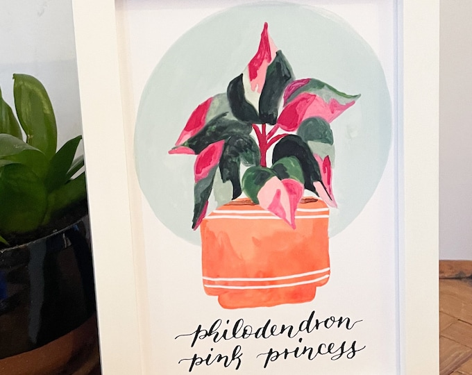Featured listing image: Pink Princess | art print