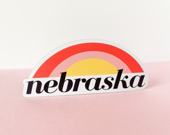 Nebraska Sunset magnet