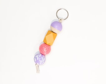 Lilacs in Spring keychain