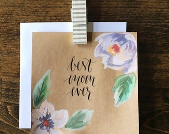 Best Mom Ever card