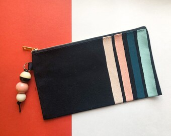 Modern Stripes pencil case