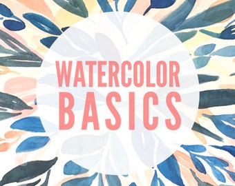 Watercolor Basics | 6 PM to 8 PM | Thursday, September 20 | Omaha