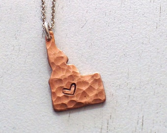 Hammered Idaho in Copper