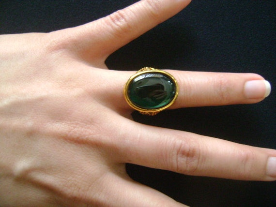 Stunning Vintage Gold Filled / Plated? With Dark E