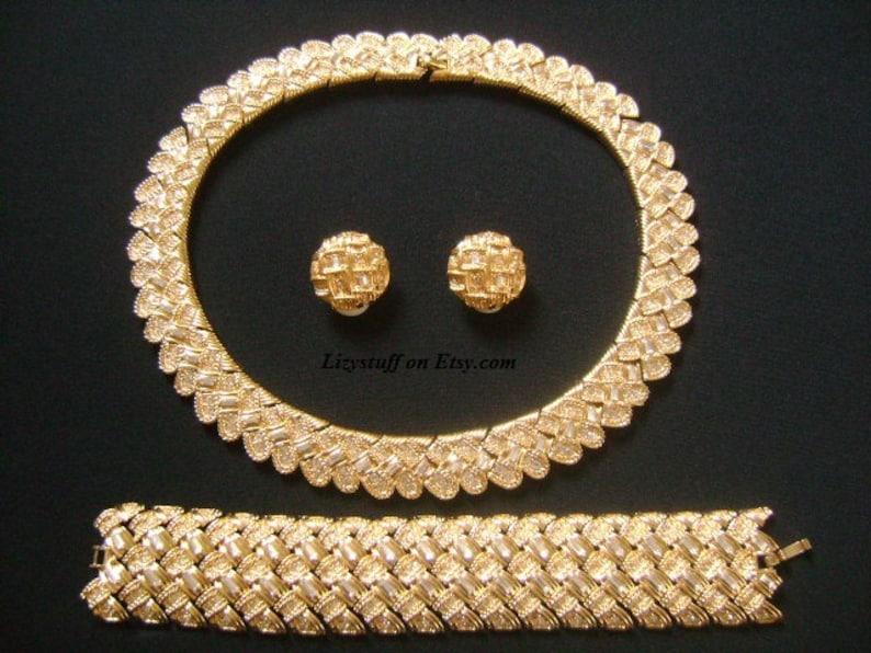 Opulent NINA RICCI Haute Couture Parure bijoux ensembles  5187aa04bd9