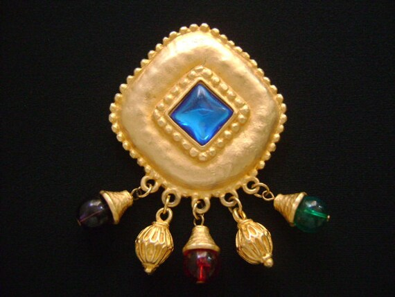 Fabulous Vintage Baroque Etruscan Style Jewelry Go