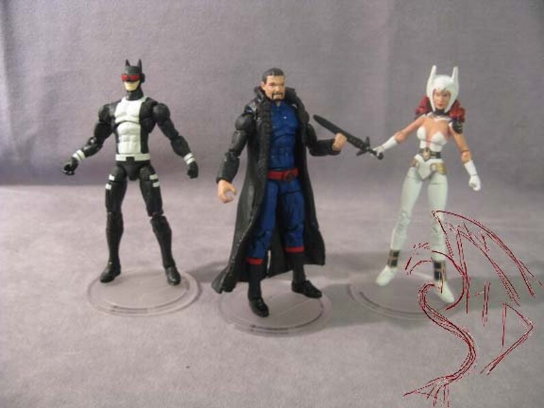 Custom Action Figure - Make To Order! Justice League Gods and Monsters 3  3/4