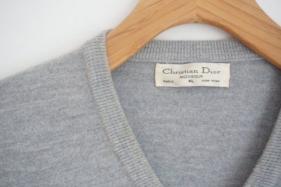 Christian Dior Sweater Vest Vintage Monsieur  - image 3