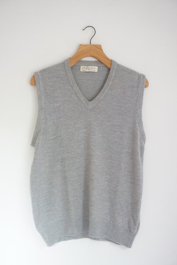 Christian Dior Sweater Vest Vintage Monsieur  - image 2