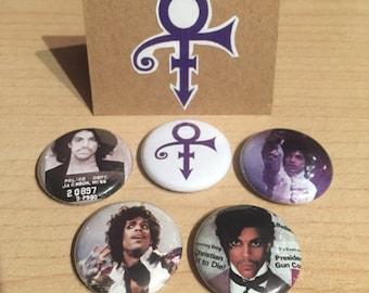 """Prince 1"""" Button Set"""