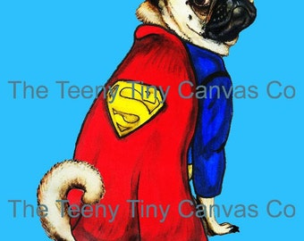 Superman Caricature Etsy