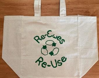 Reusable tote bag / grocery bag