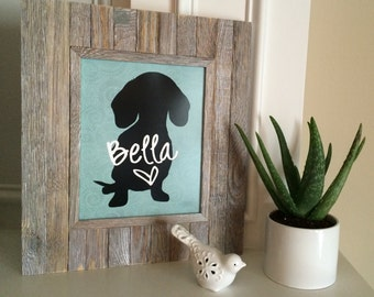 Digitally Delivered Art Prints - Choose a breed and a name - Custom Pet Art | Digital File