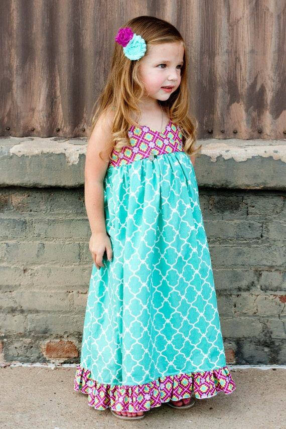 Boutique Maxi Dresses for Girls