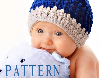 Baby Boy Hat Crochet PATTERN 77dc26db911