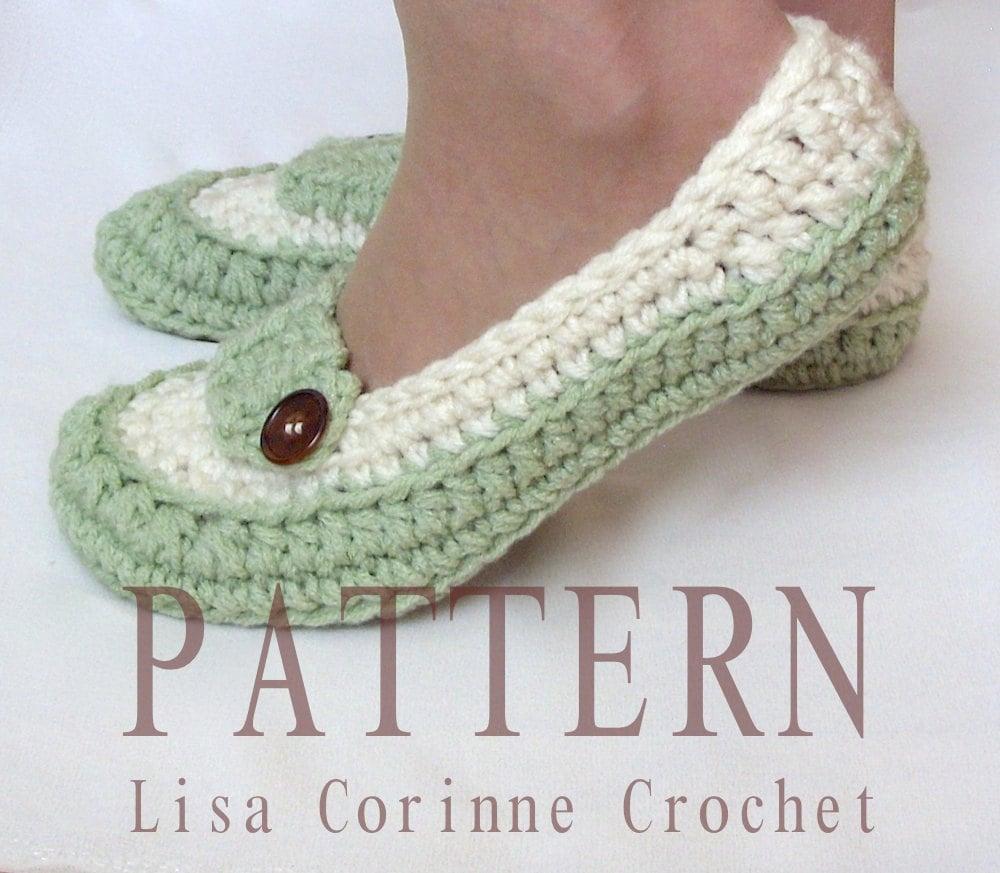 Bridal Slippers Crochet PATTERN, Wedding Slippers Pattern, Dancing ...