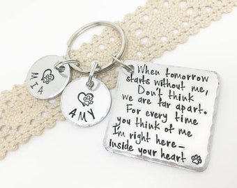 Pet Memorial Keychain, Angel With Paws, Family dog, Family cat, Family pet, Keychain for Pet, Dog Keychain, Pet loss, Pet loss keepsake