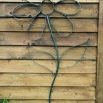 Wrought Iron 6 foot tall steel Daisy.  Wall art or for Garden