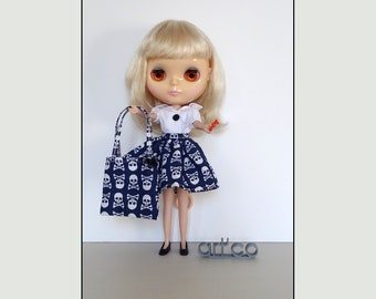 Special Haloween, for Blythe doll. An Art'co creation