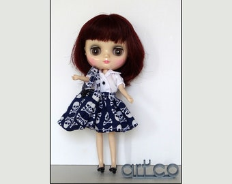 Special Haloween, for Middie Blythe doll. An Art'co creation