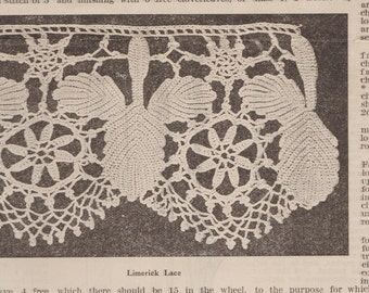 Edging Lace Pattern Etsy