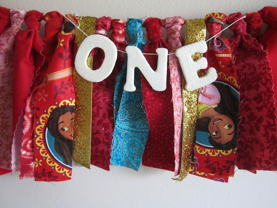 Details about  /Disney Elena of Avalor Birthday Banner decoration 7 ft long  NEW