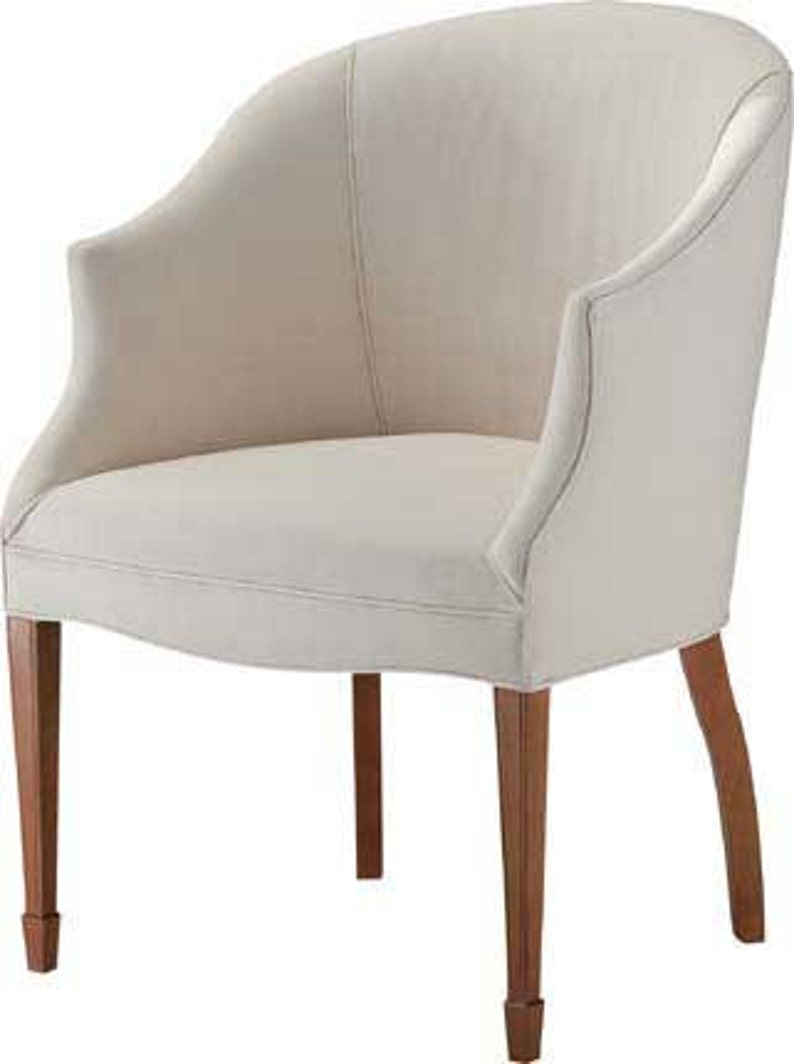 Custom Fabric Accent Chairs.Before Frame Custom Order Upholstered Accent Chair Small Scale Chair Made To Order