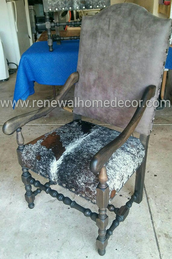 Incredible Custom Order Leather And Hide Accents Chairs With Stair Nail Head Tacks Great As Dining Chairs Or Accent Chairs Sold Custom Order Creativecarmelina Interior Chair Design Creativecarmelinacom