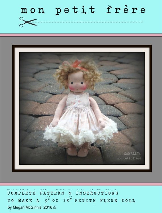 pdf pattern book to make 9 or 12 doll etsy