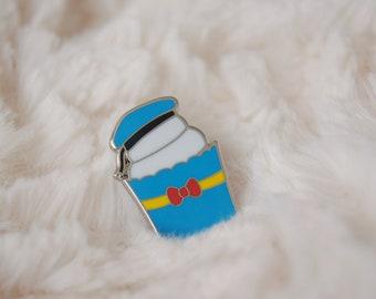 Sailor Duck Cupcake Enamel Pin