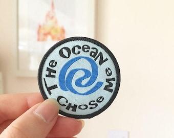 Ocean Princess Iron-on Patch