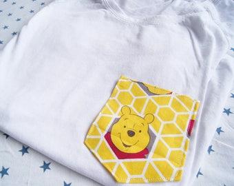 Honey Pooh Tee Pocket
