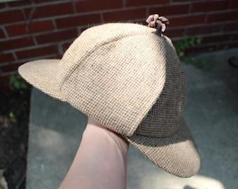 94ac467cac4 vintage sherlock holmes hat   deerstalker   1960s   mens accessories