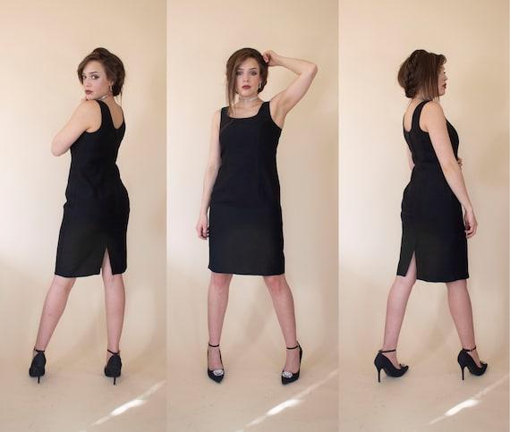 vintage little black dress 80s does 50s