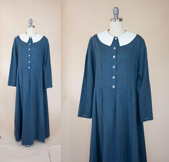 vintage antique reproduction calico dress