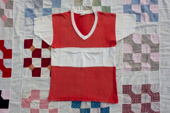 rare vintage 1960s mayo spruce cotton t shirt pock