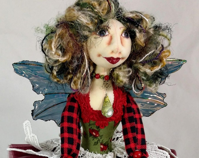 Art Doll-Wilda the Faery OOAK Cloth Doll
