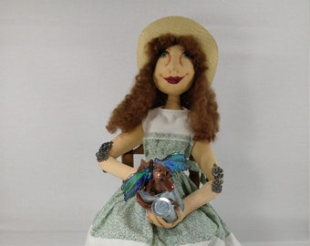 Art Doll - Elaine and Cornelius Dragon Series OOAK Art Doll