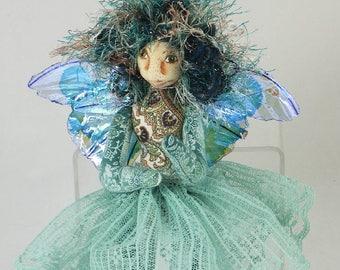Art Doll-Sheena the Sprite OOAK Cloth Doll Faery