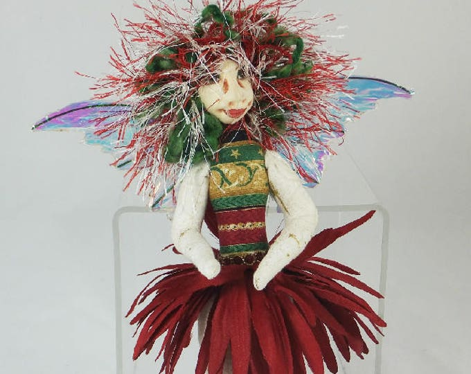 Art Doll-Beata the Sprite OOAK Cloth Doll Faery
