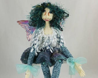 Art Doll-Betome the Faery OOAK Cloth Doll