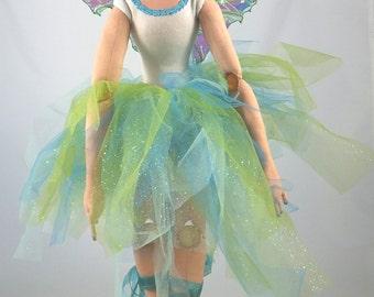 SALE! Magdelene the Ballerina Faery a Cloth Doll