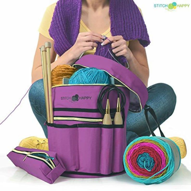 Knitting Bag  Yarn Organizer For All Your Knitting image 0