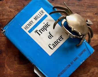 Tropic of Cancer Henry Miller - 20th Century Modern Literary Classic - Vintage Book Decor - Literature Gift Book