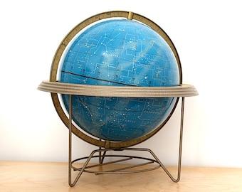 Vintage Celestial Globe - Star Globe - Vintage Globe Decor - Astronomy Gift - Unique Wedding Gift - Constellation Globe - Cram Rare Globe